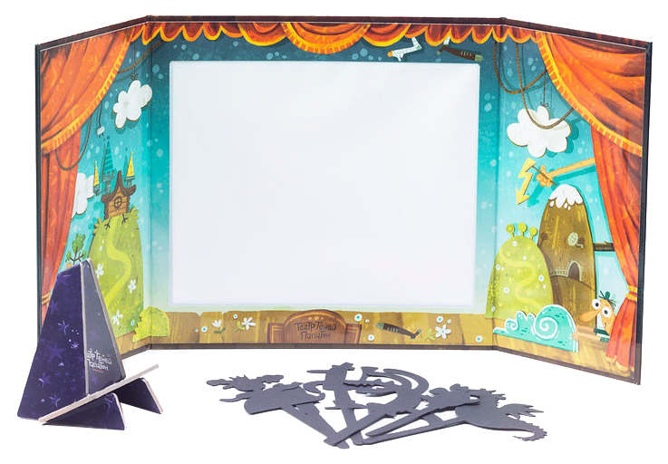 Купить АльДенте Театр теней Папатон, Куклы