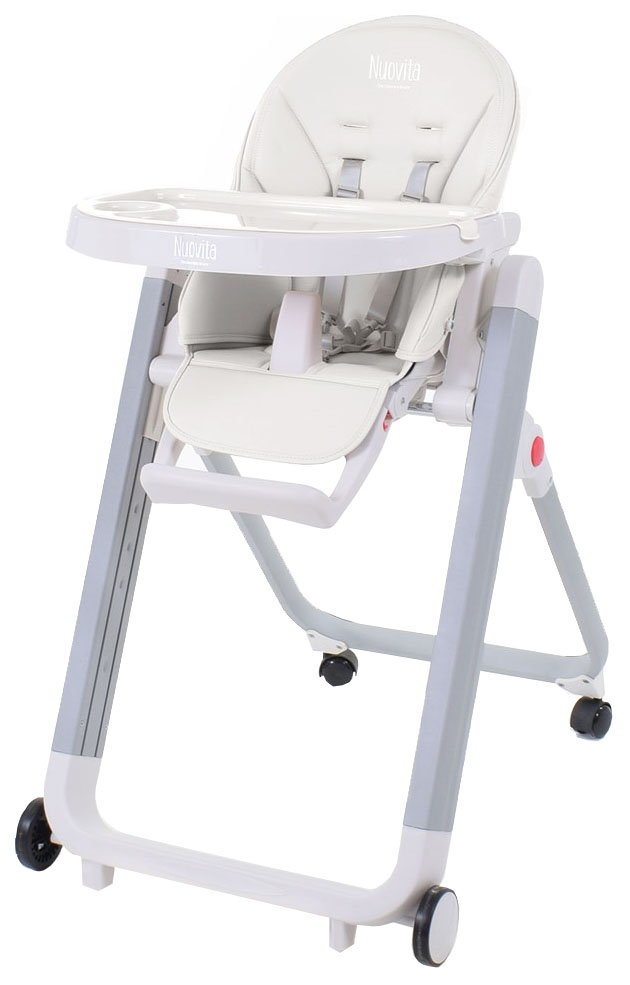 Купить Стульчик для кормления Nuovita Futuro Senso Bianco Bianco/Белый, Стульчики для кормления