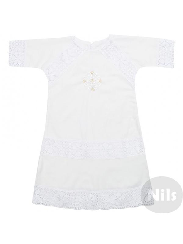 Рубашка ДЛЯ КРЕЩЕНИЯ Белый р.80