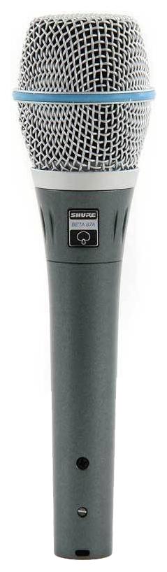 Микрофон Shure Beta 87A вокальный
