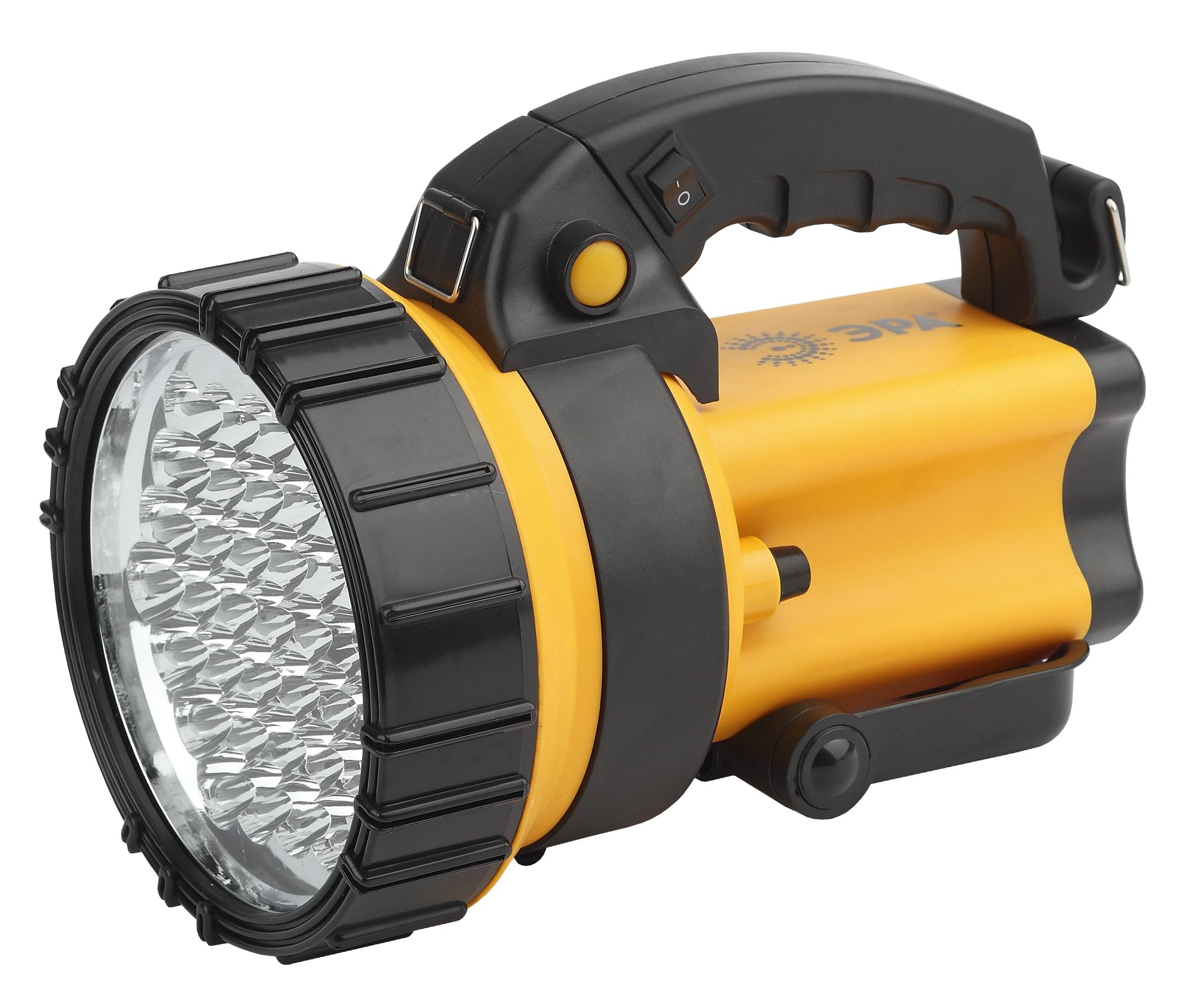 Туристический фонарь Эра Альфа PA-603 черный/оранжевый, 2 режима