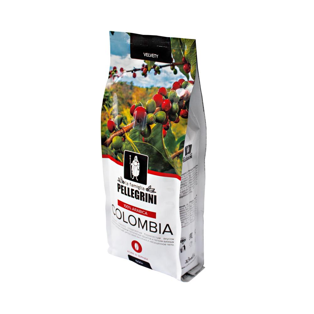 Кофе зерновой La famiglia Pellegrini  Colombia 500 г