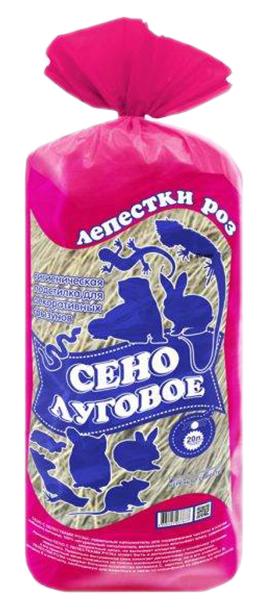 Сено для грызунов Уют Лепестки роз 0.27