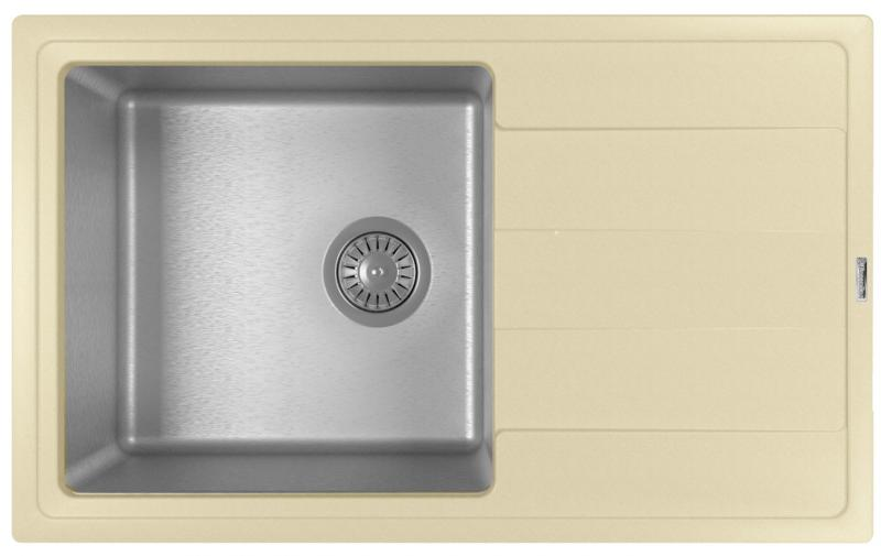 Мойка для кухни комбинированная Florentina Комби 780, шампань фото