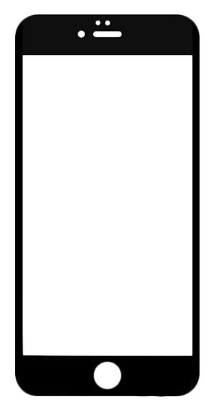 Защитное стекло Krutoff для Apple iPhone 6 Plus/iPhone 6S Plus Black