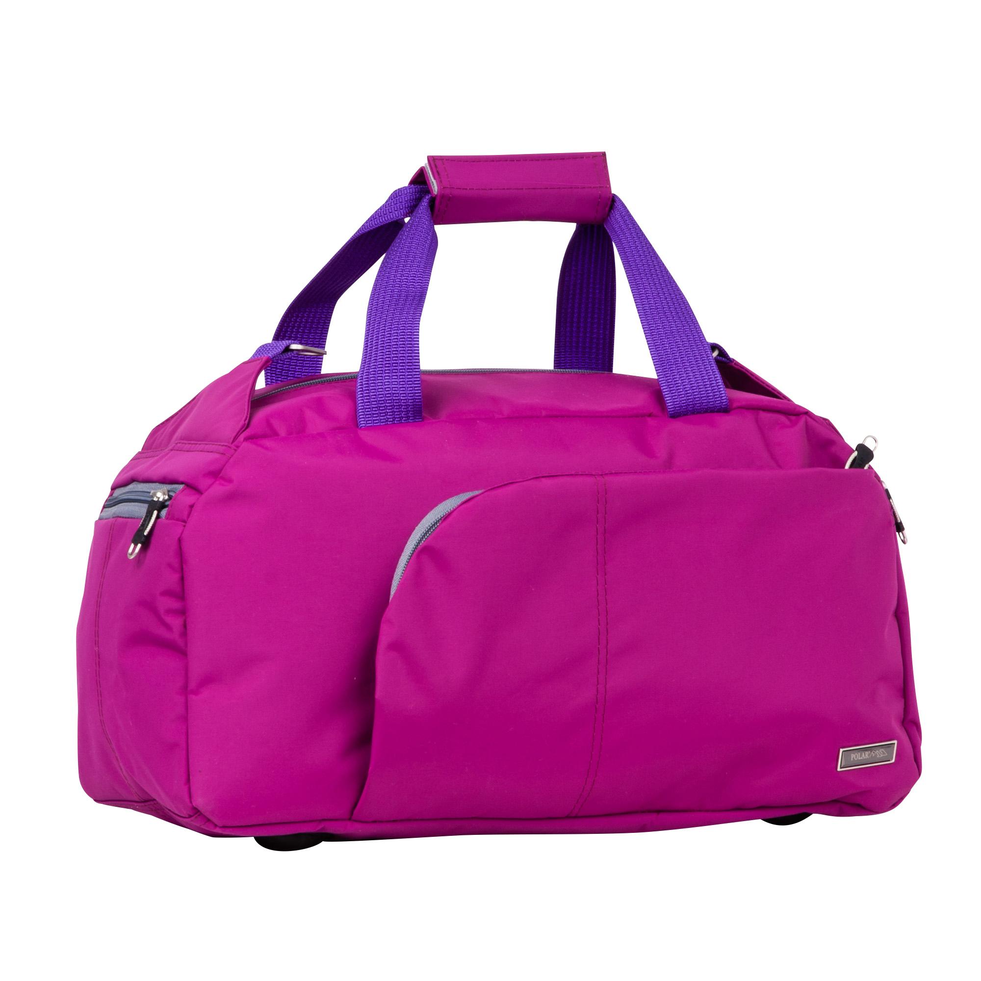 Спортивная сумка Polar П7072 сиреневая