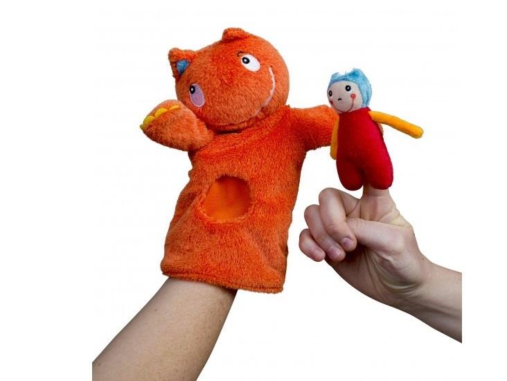 Купить Мягкая игрушка Ebulobo на руку Гигант, Мягкие игрушки животные