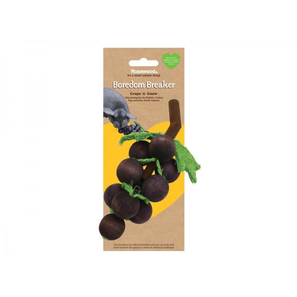 Игрушка для грызунов Rosewood Виноградная гроздь деревянная