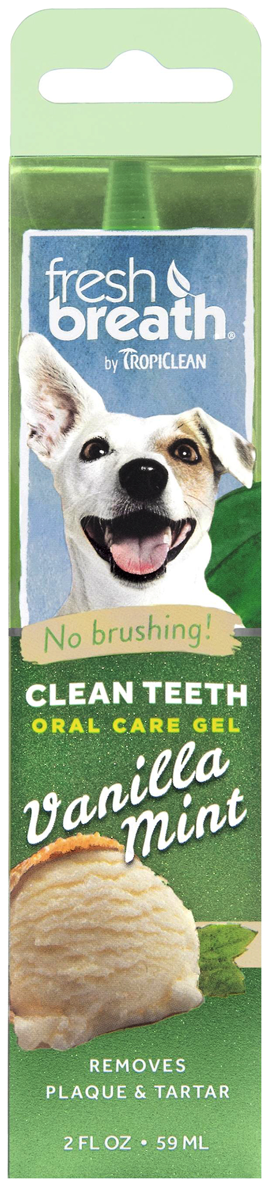 Зубной гель для собак Tropiclean С ванилью