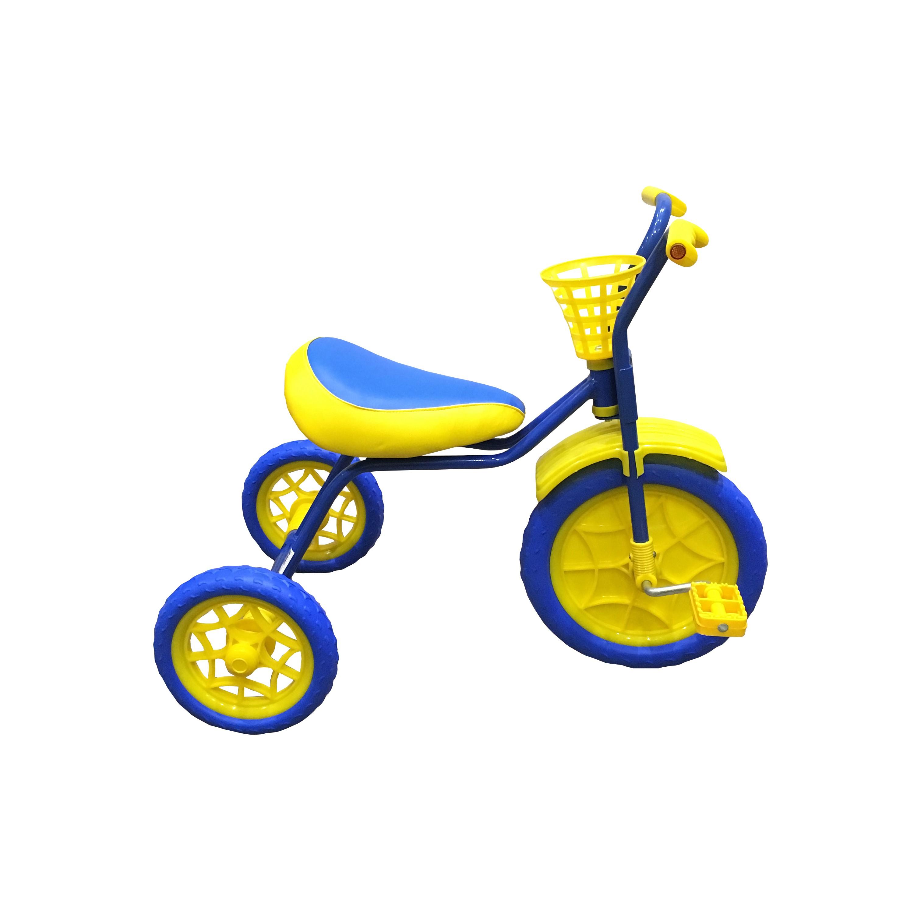 Трехколесный велосипед Woodlines Зубренок Синий, Детские трехколесные велосипеды  - купить со скидкой