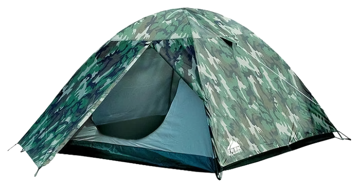 Туристическая палатка Trek Planet Alaska 3 трехместная камуфляж