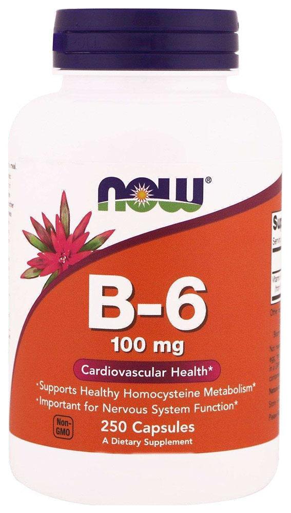 Купить Витамин B6 NOW B-6 250 капс.