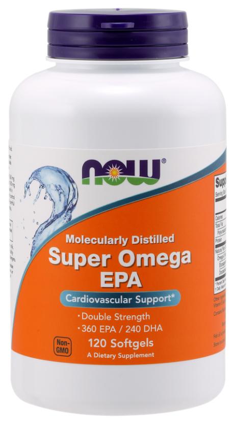 Купить Omega 3 NOW Super Omega Epa 120 капс.