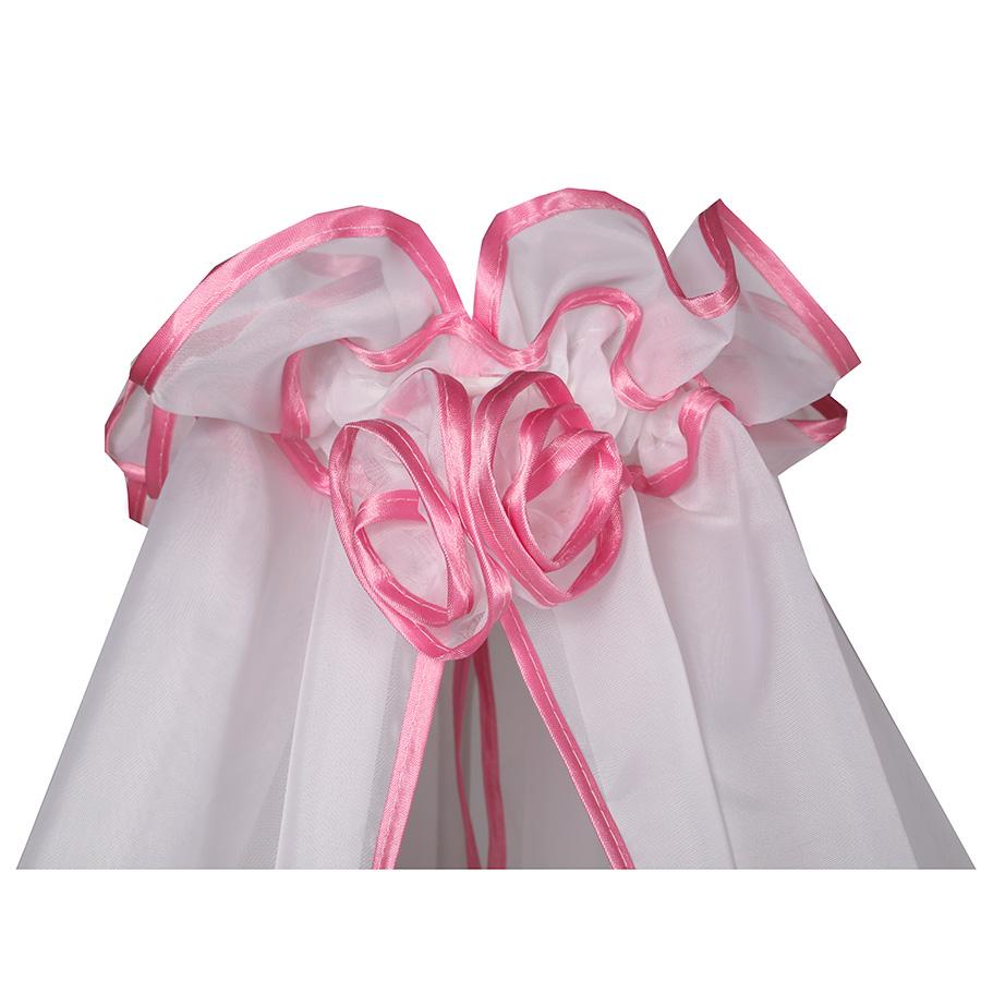 Балдахин для детской кроватки BAMBOLA 150x300 Розовый 187