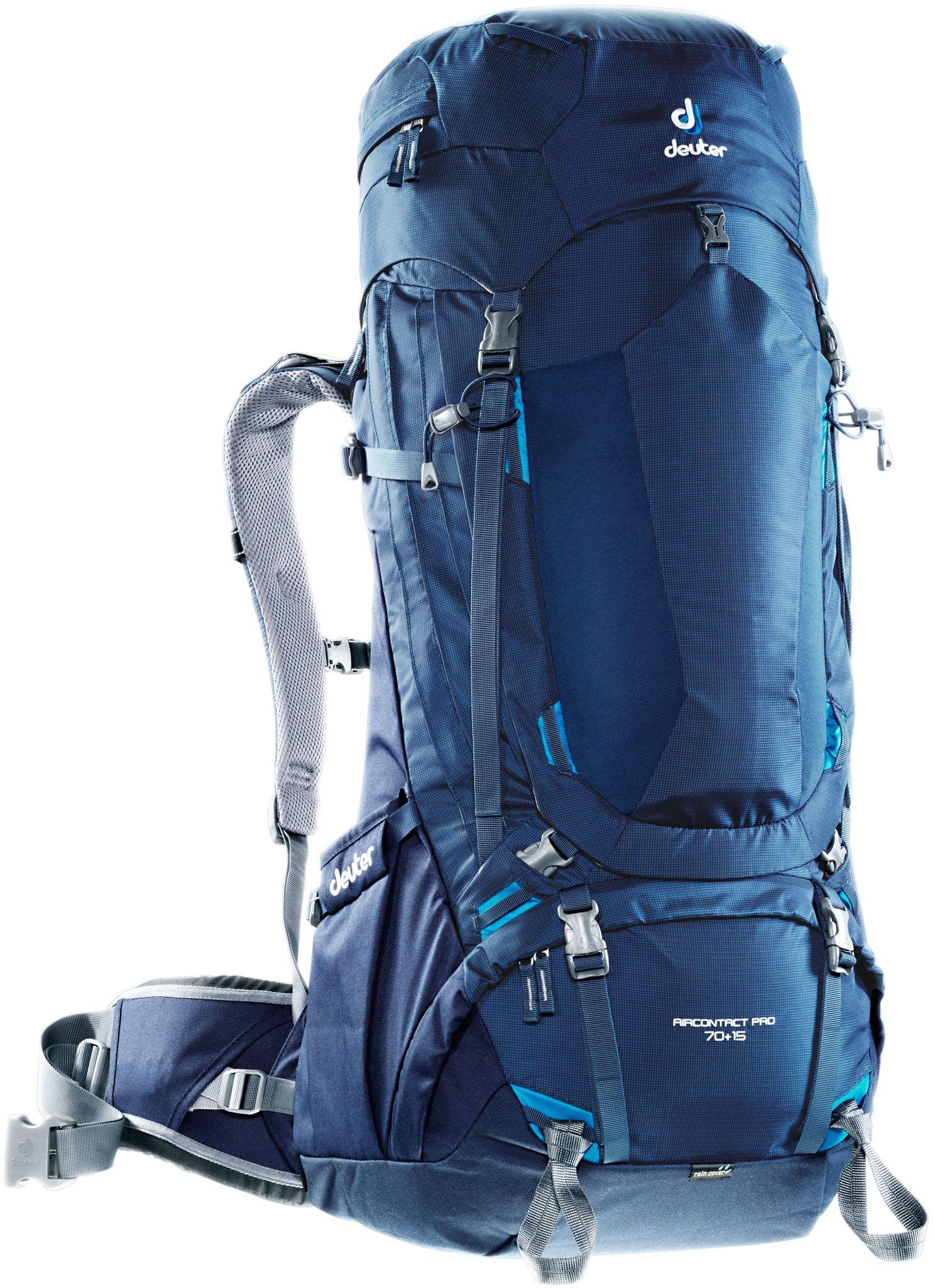 Туристический рюкзак Deuter Aircontact Pro 85 л синий