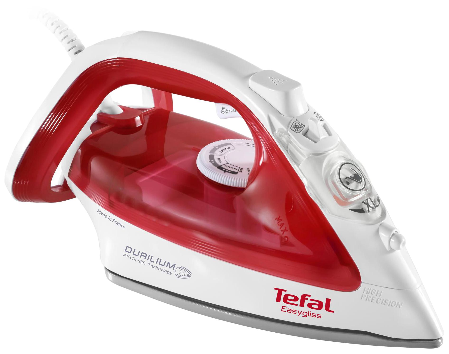 Утюг Tefal Easygliss FV3962 White/Red