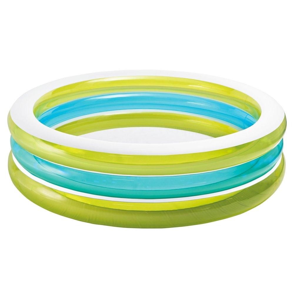 Купить Надувной бассейн intex бирюза, 203х51 см, от 6 лет, арт, 57489NP, Интекс, Детские бассейны