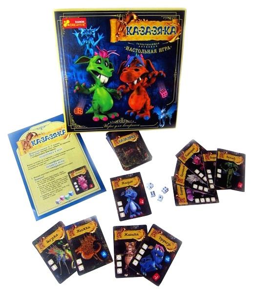 Купить Семейная настольная игра Ranok Creative Ка-за-зя-ка 12120034Р, Ранок, Семейные настольные игры