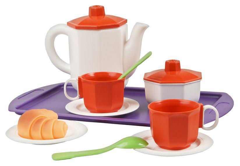 Купить Игрушечные кухни, Игрушечная посуда Огонек Чайный набор