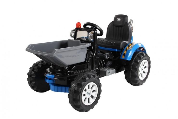 Купить Детский электромобиль трактор на аккумуляторе Jiajia JS328C-BL,