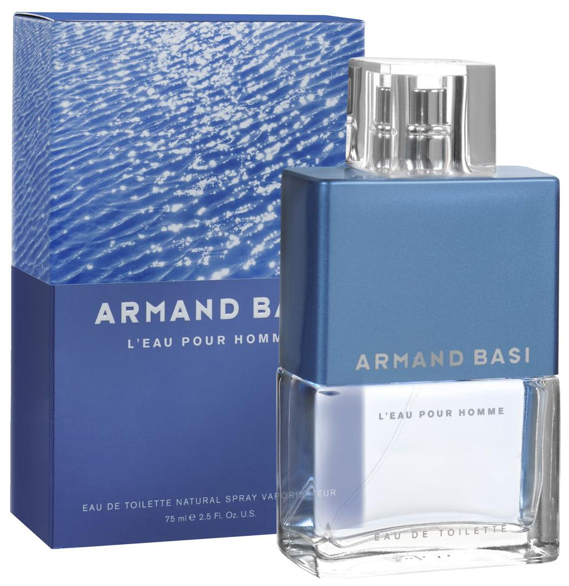 Купить Туалетная вода Armand Basi L'eau Pour Homme 75 мл