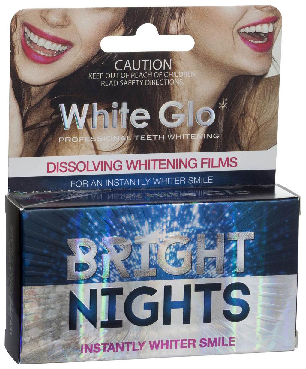 Пластина для отбеливания зубов White Glo Bright