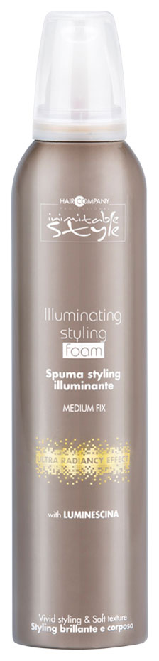 Мусс для волос Hair Company Inimitable Style Illuminating