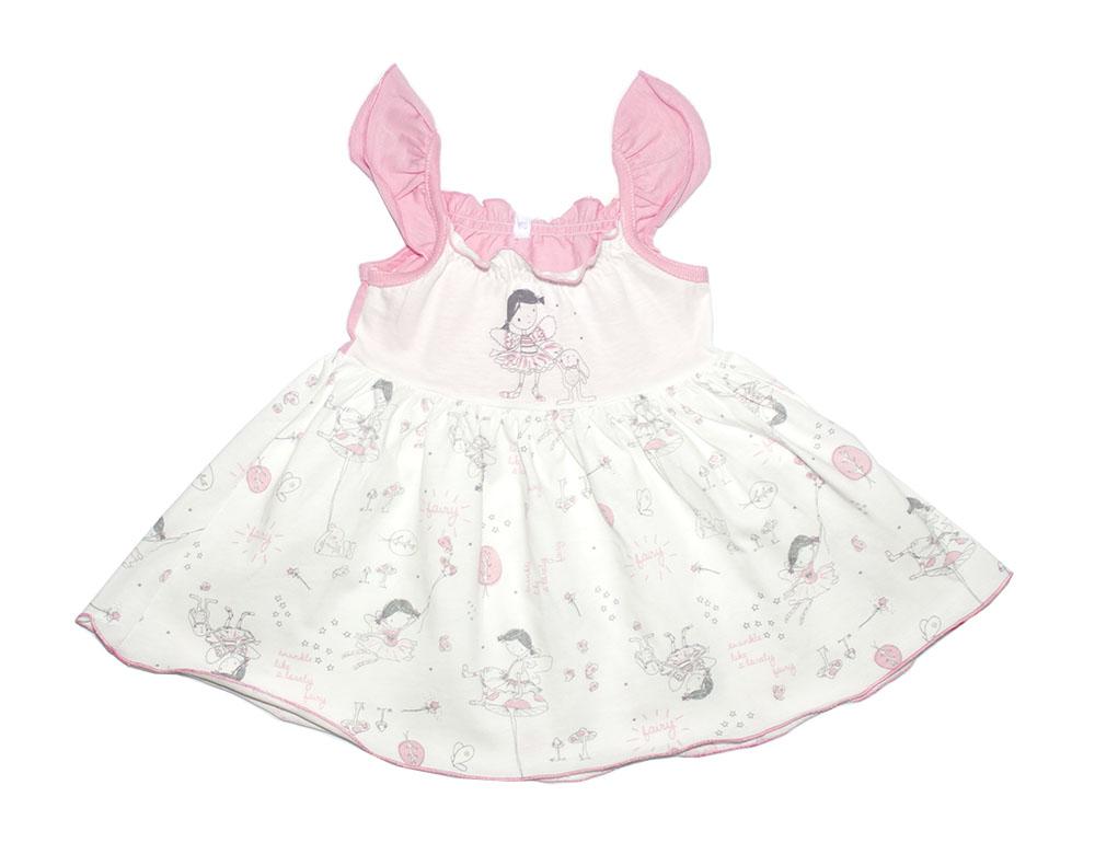 Купить Сарафан для девочек Осьминожка Фея 123-116П-24/80 многоцветный р.80, Платья для новорожденных
