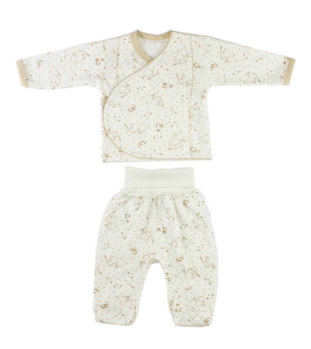 Комплект одежды Осьминожка 218-300-24/74 бежевый р.74