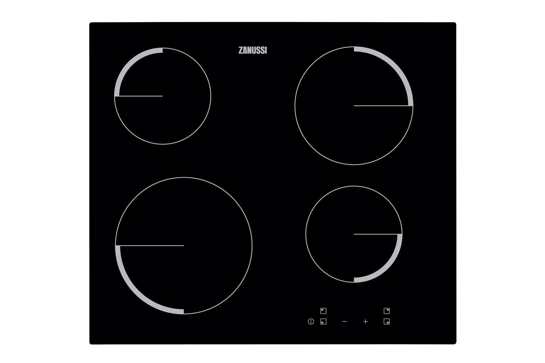 Встраиваемая варочная панель электрическая Zanussi ZEV56240FA Black