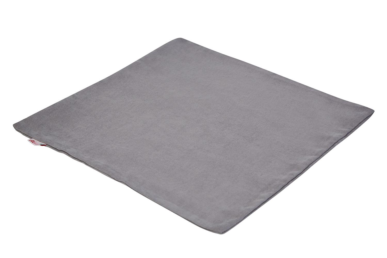 Купить Чехол для подушки 43х43 см Hoff Антрацит, Подушки для мам