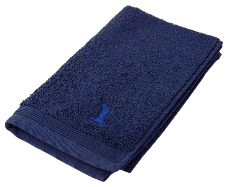 Полотенце для лица, полотенце для ног, полотенце для рук Move Superwuschel-Uni синий