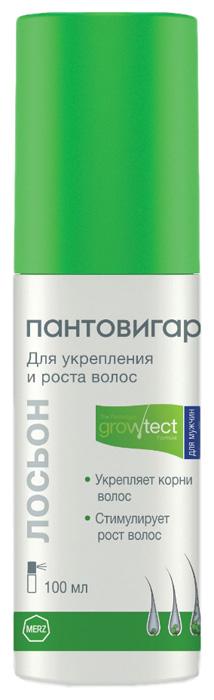 Лосьон Пантовигар Growtest formula для укрепления и роста волос для мужчин 100 мл