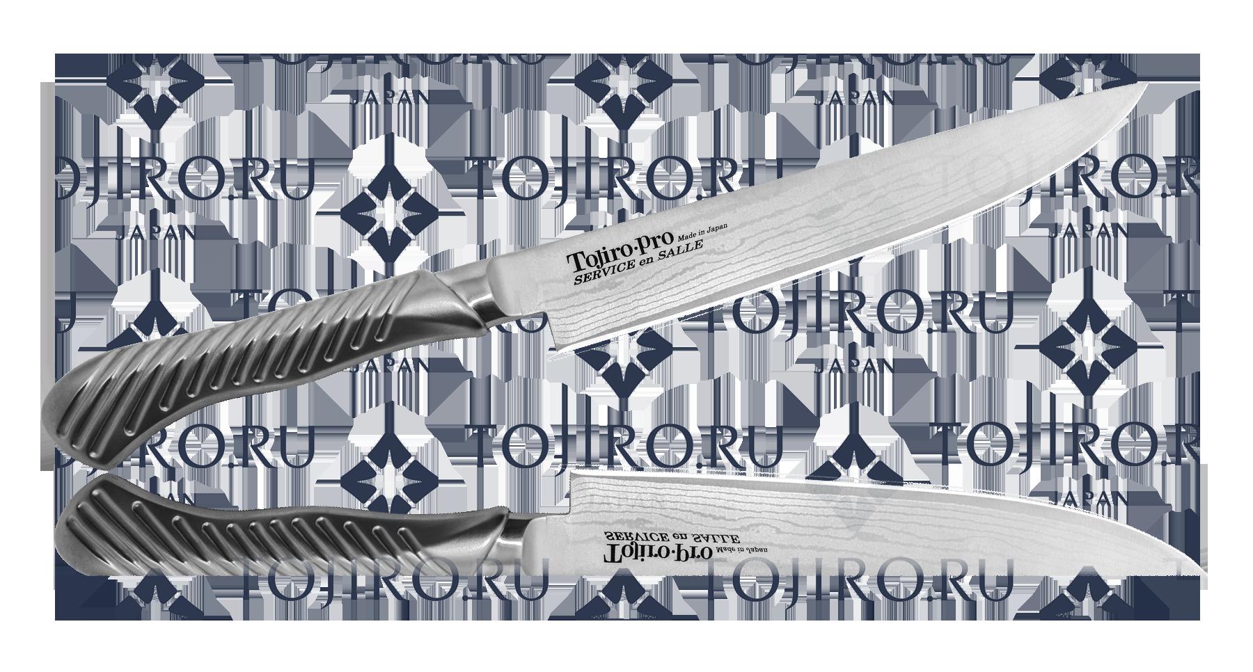 Нож нож стейковый Tojiro FD-708 Серебристый