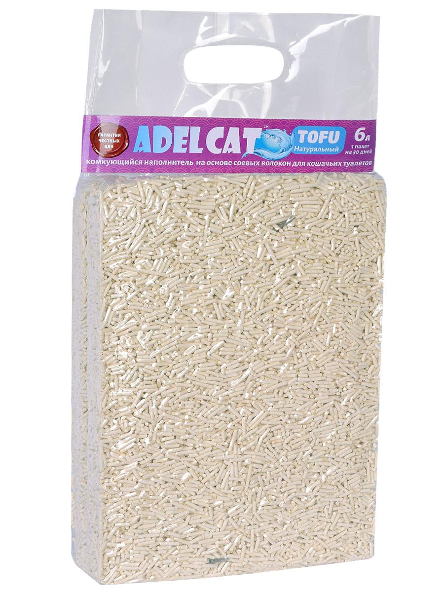Комкующийся наполнитель для кошек Adel cat Tofu