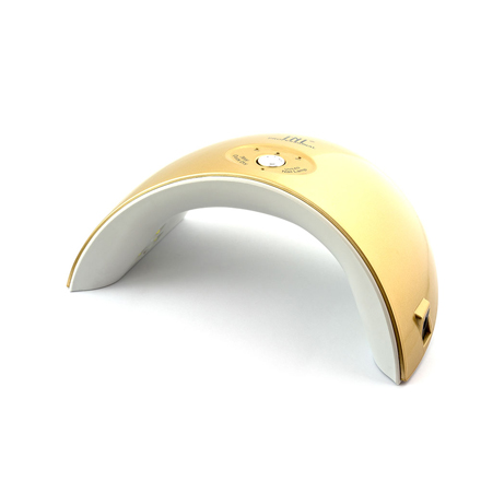 Купить TNL Лампа для маникюра UV/LED Mood 36W золотая, TNL Professional