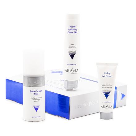 Купить Набор ARAVIA Professional для глубокого увлажнения кожи Daily Hydration 24H