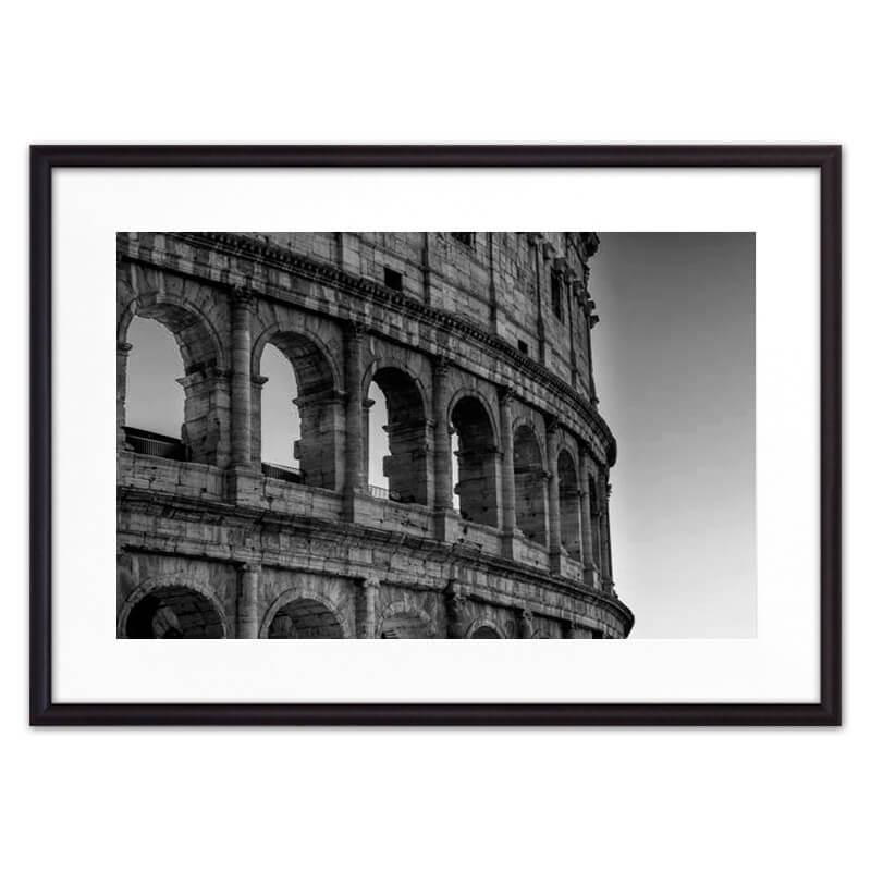 Постер в рамке Окна Колизея 40 х 60 см Дом Корлеоне фото