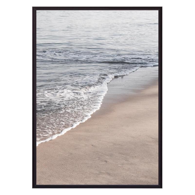 Постер в рамке Песочный берег 40х60 см