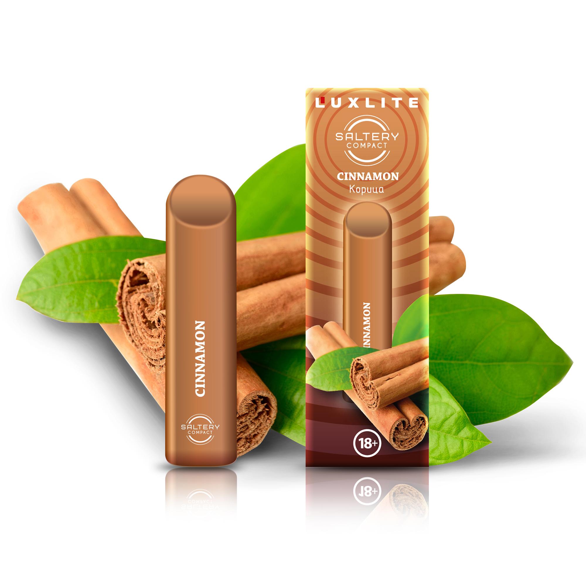 Электронная сигарета Luxlite Saltery Compact со вкусом корицы фото