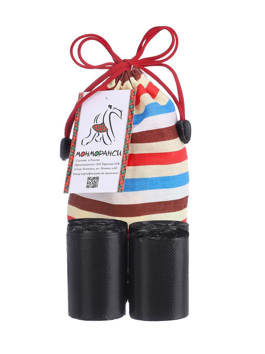 Пакеты для выгула собак Монморанси Чистюля, черные,