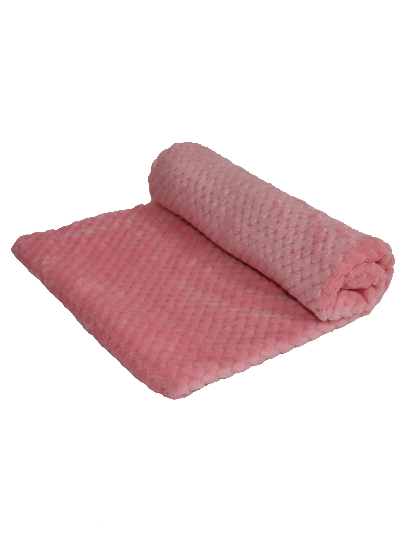 Плед для кошек и собак Монморанси Зефир, розовый, 75х75 см фото