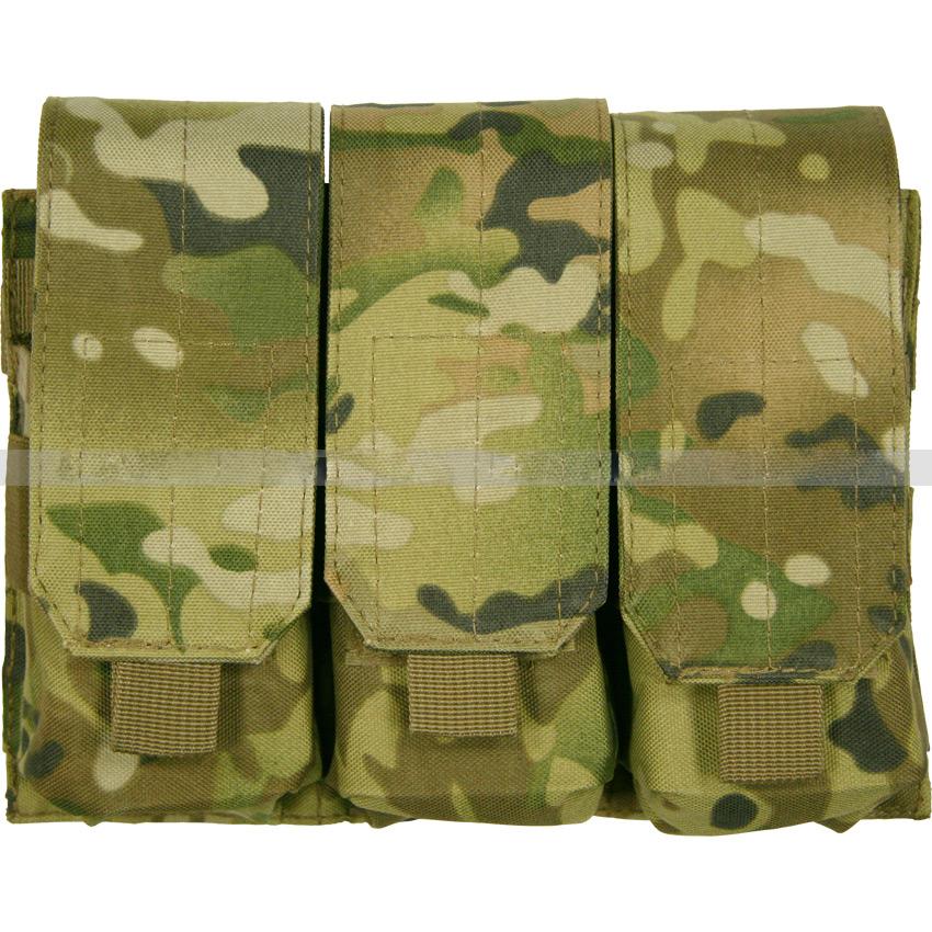 Подсумок NoBrand для магазинов M4/M16 Triple, multicam