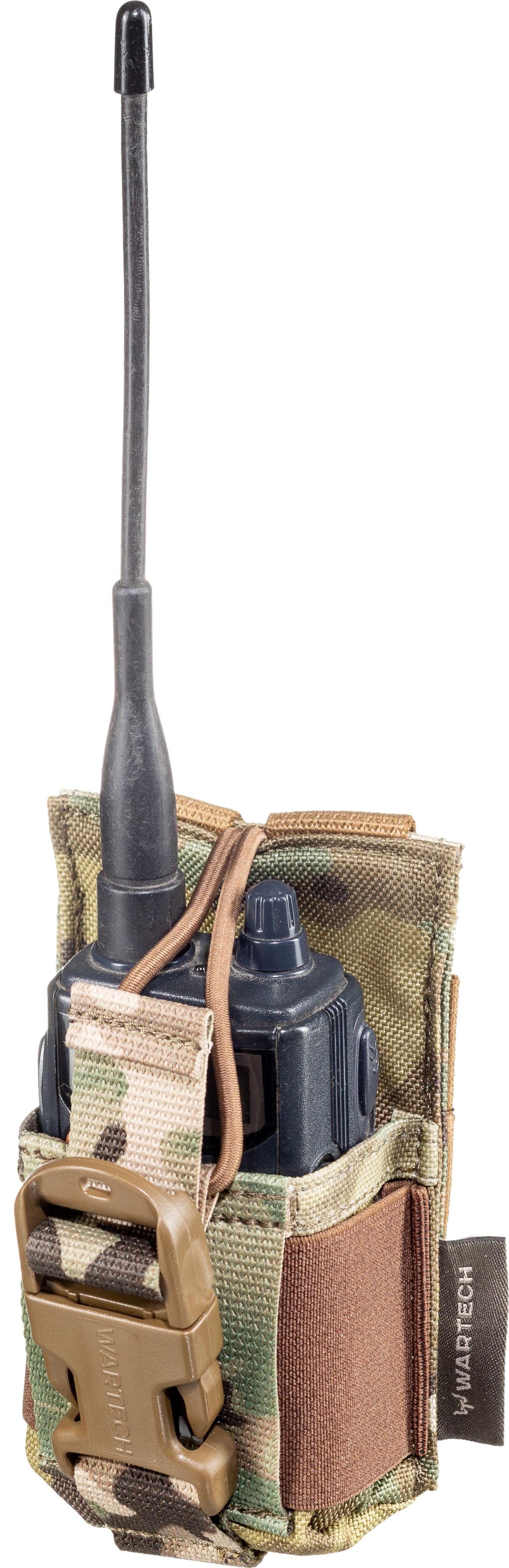Подсумок Wartech под радиостанцию открытый, multicam
