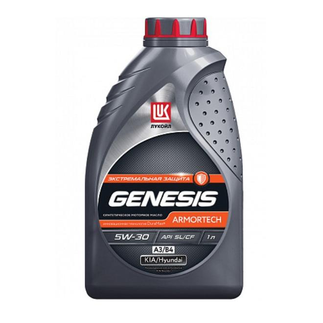 Моторное масло Lukoil Genesis Armortech А3/В4 5W-30 1л фото