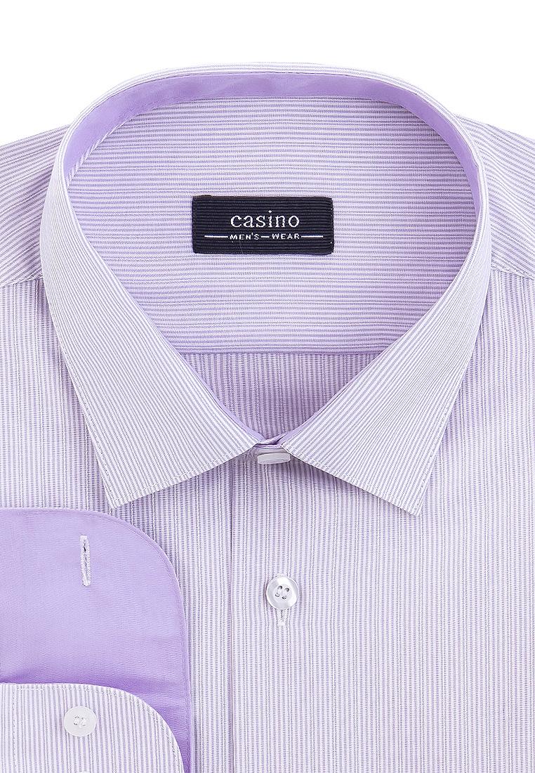 Рубашка мужская CASINO c171/15/7783/Z/1 фиолетовая 39