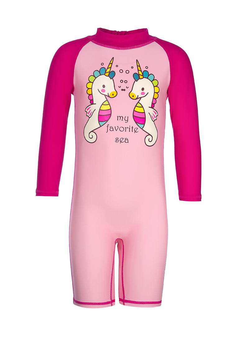 Купальник для девочек OLDOS ASS202BSW14 цв. розовый