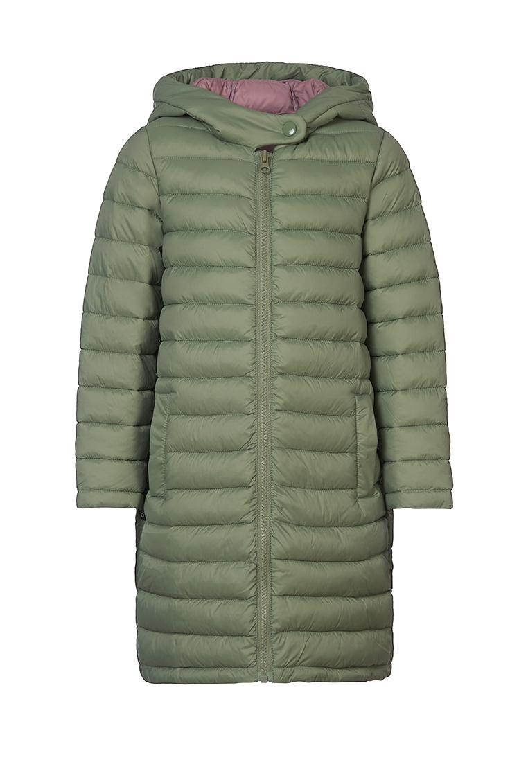 Пальто для девочек OLDOS ASS202T1JK33 цв. зеленый