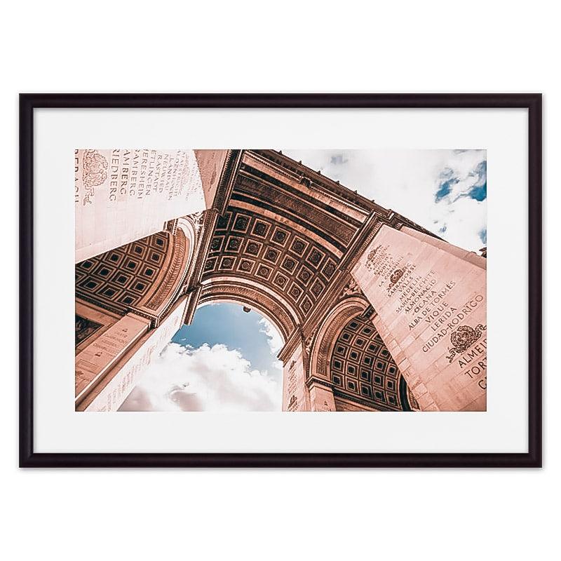 Постер в рамке Триумфальная Арка 30 х 40 см Дом Корлеоне фото