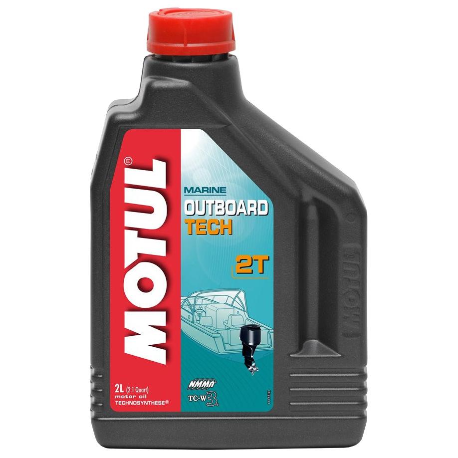 Моторное масло Motul Outboard tech 2T 5w-40 2л 101726